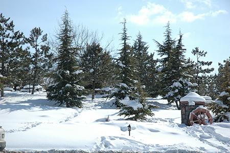 Gölbaşında Kar Manzaraları galerisi resim 1