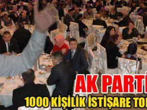 1000 KİŞİLİK İSTİŞARE