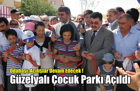 Güzelyalıya yeni park