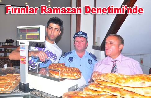 Fırınlar Ramazan Denetiminde