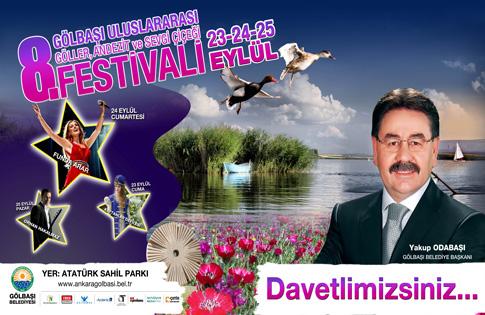 Göller İlçesi Gölbaşı, Festivale Hazır