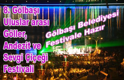 Gölbaşı Belediyesi Festivale Hazır