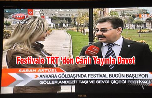 Festivale TRT 'den Canlı Yayınla Davet