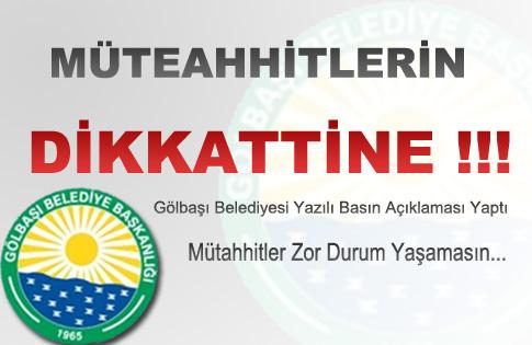 MÜTEAHHİTLERİN DİKKATİNE !!!
