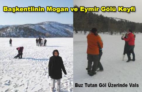 Başkentlinin Mogan ve Eymir Gölü Keyfi