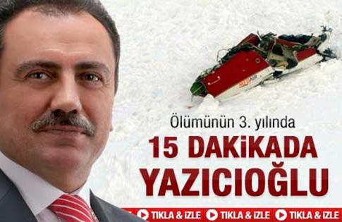 15 dakikada Yazıcıoğlu
