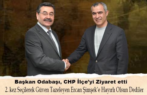 Başkan Odabaşı'ndan CHP'ye ziyaret