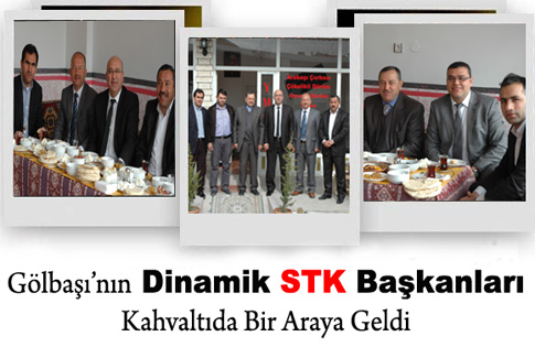STK Başkanları Bir Araya Geldi