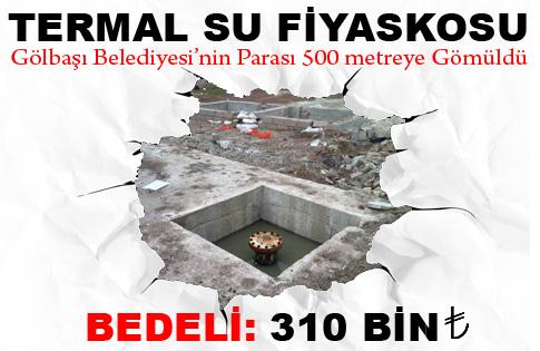 TERMAL SU FİYASKOSU