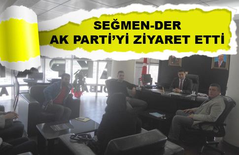 Seğmenderden AK Partiye Ziyaret
