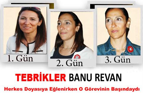TEBRİKLER BANU REVAN