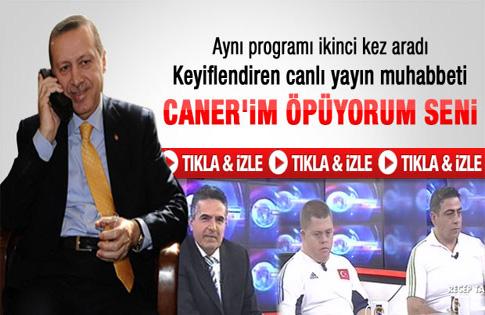 Başbakan Erdoğan Caner Ekine başarılar diledi