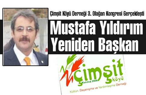 Mustafa Yıldırım Yeniden Başkan