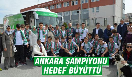 Gölbaşı Belediye Spor u-15 Türkiye Şampiyonu Olma Yolunda