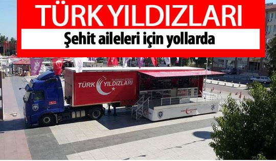 Türk Yıldızları etkinlik tırları Ankara'da
