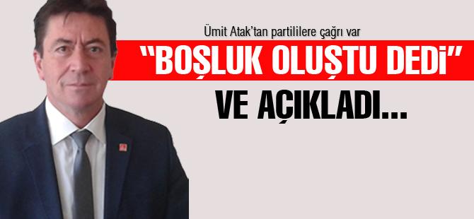 CHP'de kongre heyecanı Ümit Atak ile başladı