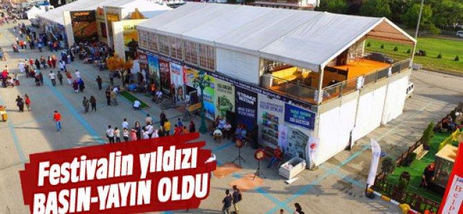 Festivalin yıldızı Basın-yayın oldu