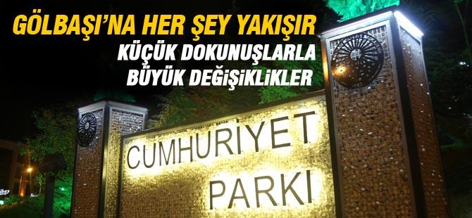 Cumhuriyet Parkı, Cumhuriyet Bayramı'na hazır