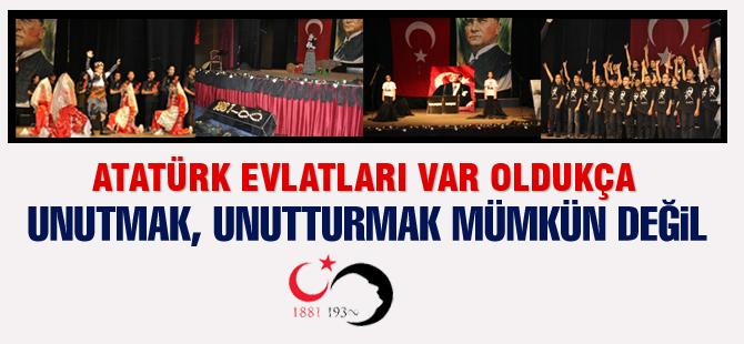 Atatürk 79. yılında Gölbaşı'nda anıldı