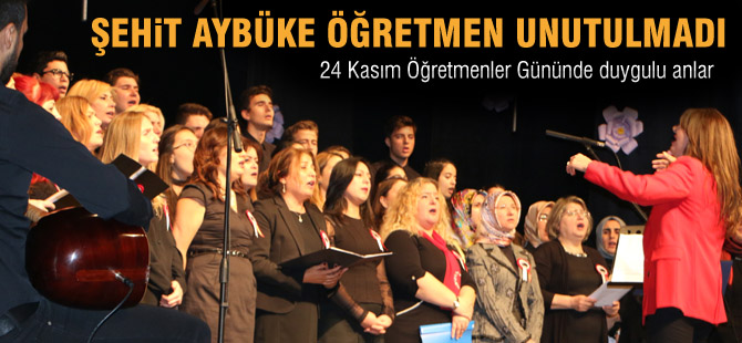 24 Kasım Öğretmenler günü kutlandı