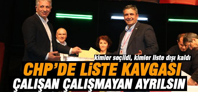 CHP kongresinde liste savaşı