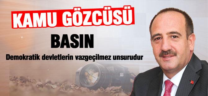 Başkan Duruay 10 Ocak çalışan Gazeteciler gününü kutladı