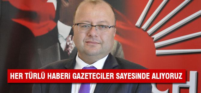 CHP İlçe Başkanından Gazeteciler günü mesajı