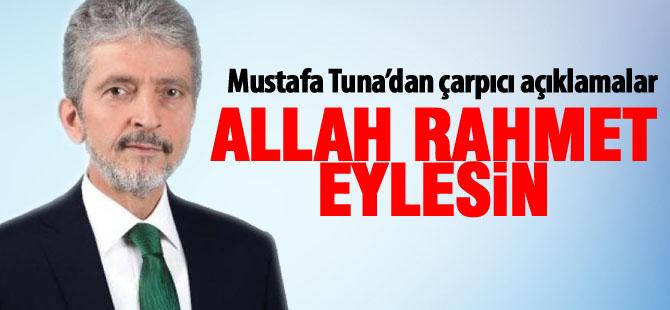 Ankara Büyükşehir Belediye Başkanı Tuna'dan çarpıcı sözler