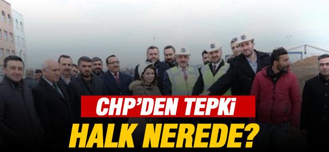 CHP'ten tepki