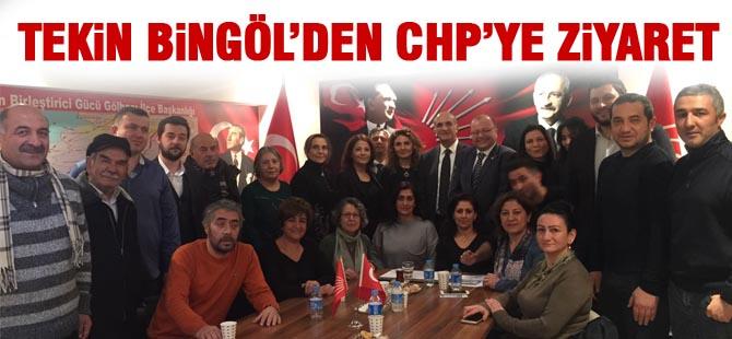 Tekin Bingöl'den CHP Gölbaşı Örgütüne Ziyaret