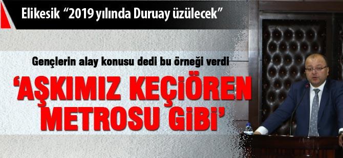"""CHP'li Elikesik; """"2019 yılında Başkan üzülecek"""""""