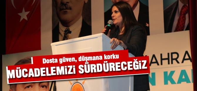 """Sarıeroğlu, """"Kadınlar siyasette önde olmalıdır"""""""
