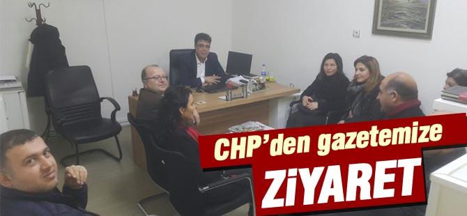 CHP Gölbaşı İlçe Örgütünden ziyaret