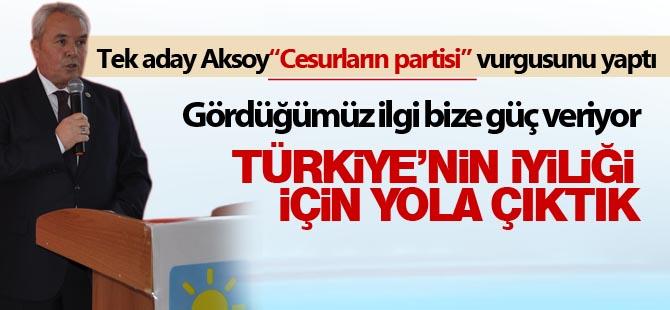 """Mahmut Aksoy; """"Türkiye'de ki sorunlar Gölbaşı'nda da var"""""""