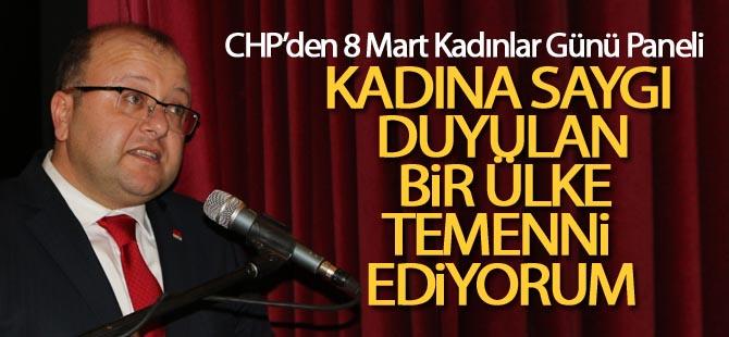 CHP'den 'Kadınlar Günü' paneli