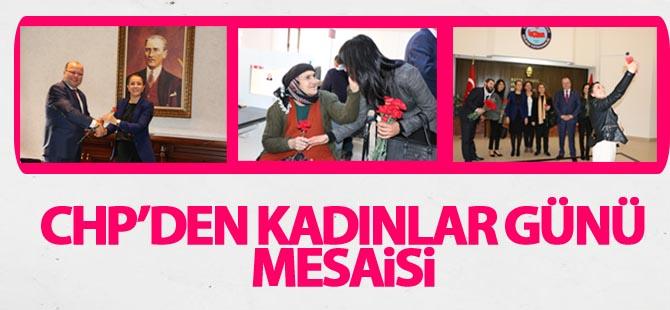 CHP emekçi kadınlar gününü kutladı