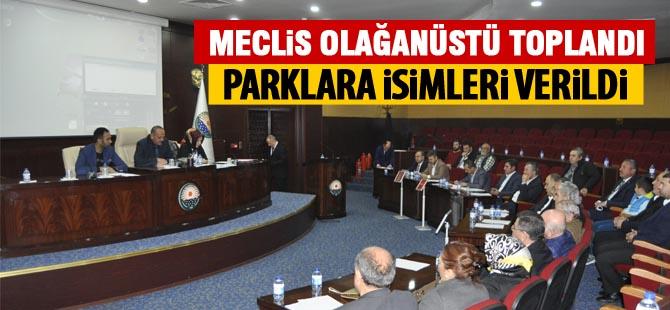 Gölbaşı Belediye meclisi olağanüstü toplandı