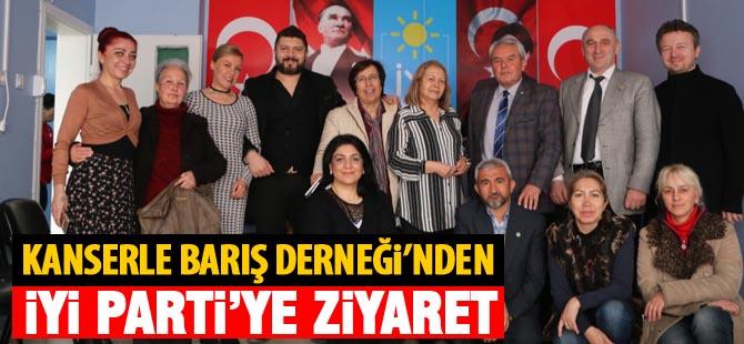 Kanserle Barış Derneği'nden İYİ Parti'ye ziyaret