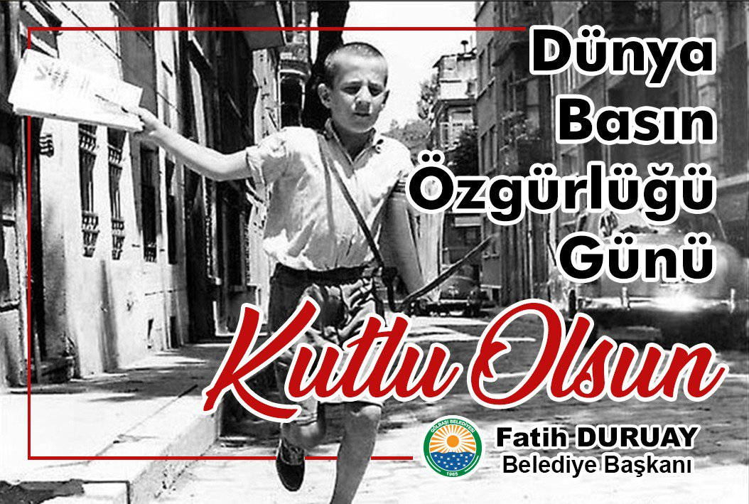 Fatih Duruay'dan 3 Mayıs mesajı