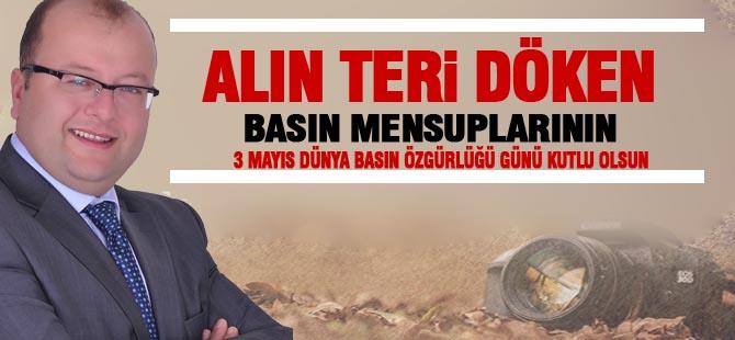 CHP İlçe Başkanı Elikesik'ten 3 Mayıs mesajı