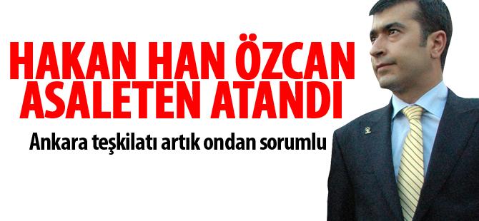 Hakan Han Özcan asaleten atandı