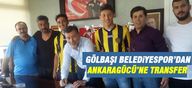 Gölbaşı'ndan Ankaragücü'ne transfer