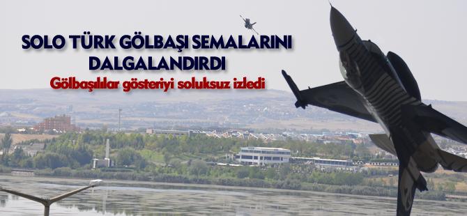 Solo Türk nefesleri kesti