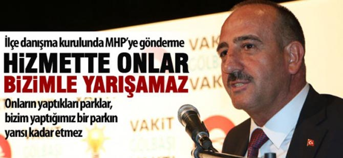 Başkan Duruay'dan MHP'lilere gönderme
