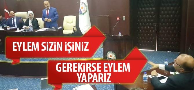 Mecliste 'Eylem' krizi