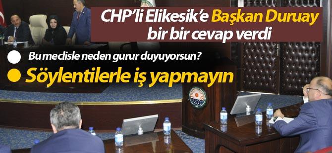 Başkan Duruay; 'Söylentilerle iş yapmayın'