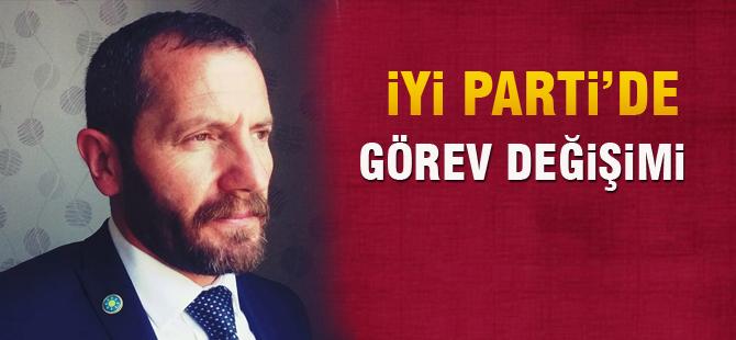 İYİ Parti'de görev değişimi
