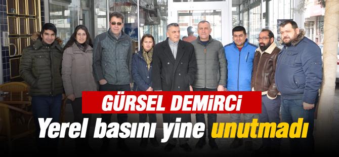 Gürsel Demirci çalışan gazeteciler gününü kutladı
