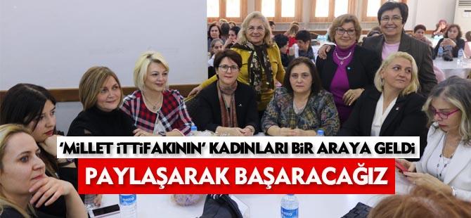 Millet İttifakı Kadın Komisyonu Gölbaşı'nda kadınları bir araya getirdi