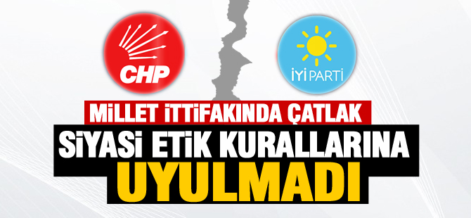 """CHP'den açıklama;""""Telefonlarına dahi ancak 25 saat sonrasında cevap verilmiştir"""""""